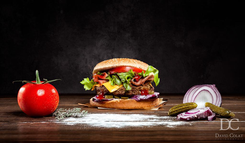 angle food photography props