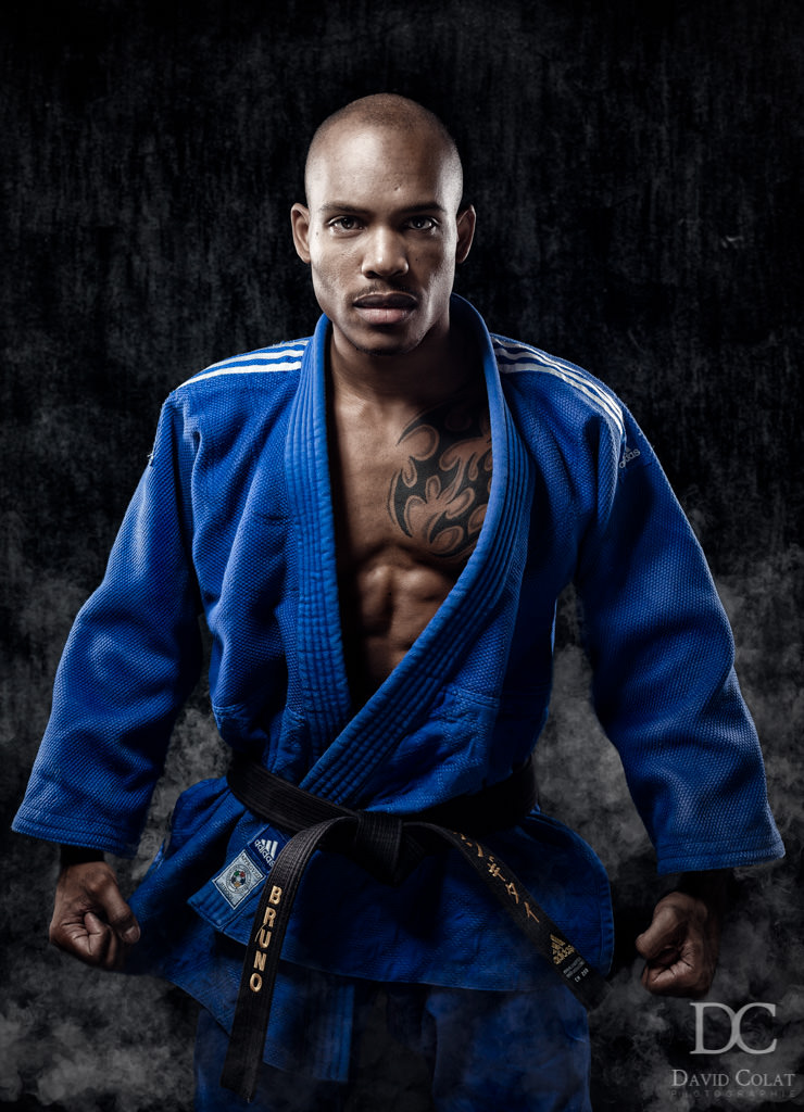 Portrait photo sportif Bruno judo judoka Ile-de-France