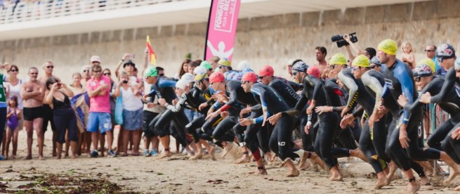 Sport - Grand Prix Triathlon Quiberon 2014